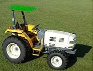 Femco Tractor Canopy 44âu20ac x 44âu20ac Green SCR44G & Tractor Canopy 44âu20ac x 44âu20ac