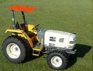 & Femco Tractor Canopy 44âu20ac x 44âu20ac Kubota Orange SCR44O