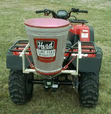 Herd Kasco Gt 77 Atv Broadcast Seeder Spreader For Atv S